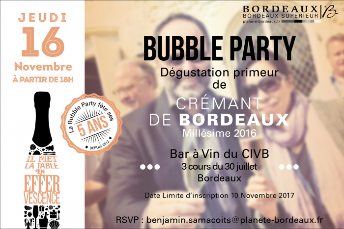 invitation bubble party